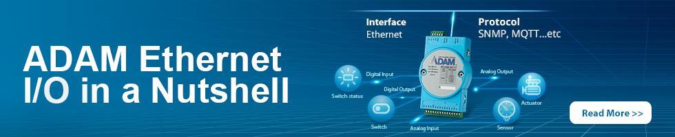 ADAM Ethernet IO in Nutshell